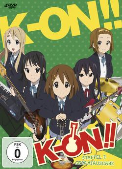 K-ON! – 2. Staffel – Gesamtausgabe (4 DVDs) von Yamada,  Naoko
