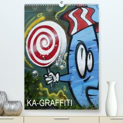 KA- GRAFFITI (Premium, hochwertiger DIN A2 Wandkalender 2020, Kunstdruck in Hochglanz) von Kleiber,  Stefan