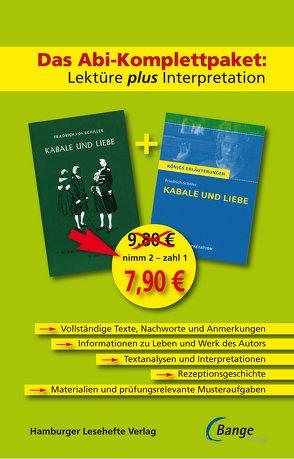 Kabale und Liebe – Das Abi-Komplettpaket: Lektüre plus Interpretation. von Schiller,  Friedrich
