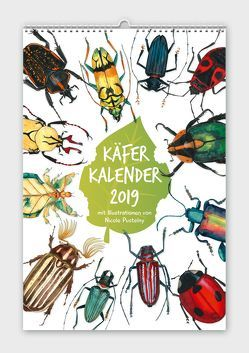 Käferkalender 2019 von Pustelny,  Nicole