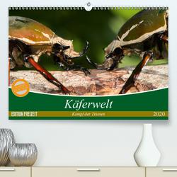 Käferwelt – Kampf der Titanen (Premium, hochwertiger DIN A2 Wandkalender 2020, Kunstdruck in Hochglanz) von Hilger,  Axel