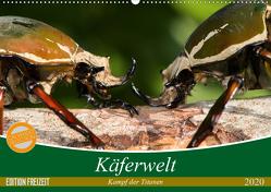 Käferwelt – Kampf der Titanen (Wandkalender 2020 DIN A2 quer) von Hilger,  Axel
