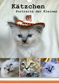 Kätzchen – Portraits der Kleinen (Wandkalender 2021 DIN A4 hoch) von Chrystal,  Jennifer