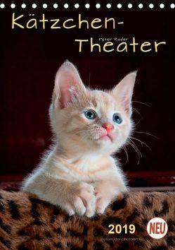 Kätzchen – Theater (Tischkalender 2019 DIN A5 hoch) von Roder,  Peter