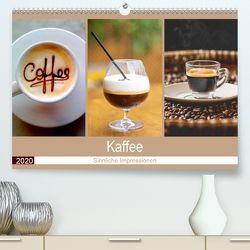 Kaffee 2020. Sinnliche Impressionen (Premium, hochwertiger DIN A2 Wandkalender 2020, Kunstdruck in Hochglanz) von Lehmann (Hrsg.),  Steffani