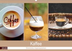 Kaffee 2020. Sinnliche Impressionen (Wandkalender 2020 DIN A2 quer) von Lehmann (Hrsg.),  Steffani