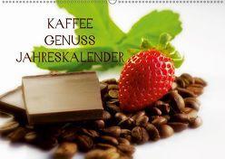 Kaffee Genuss Jahreskalender (Wandkalender 2019 DIN A2 quer) von Riedel,  Tanja
