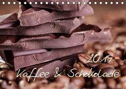 Kaffee & Schokolade (Tischkalender 2019 DIN A5 quer) von Schwarz,  Nailia