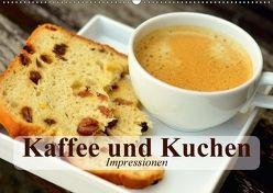 Kaffee und Kuchen. Impressionen (Wandkalender 2018 DIN A2 quer) von Stanzer,  Elisabeth