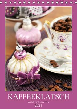 Kaffeeklatsch – Antikes Porzellan (Tischkalender 2021 DIN A5 hoch) von Frost,  Anja