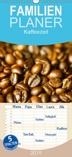 Kaffeezeit – Familienplaner hoch (Wandkalender 2019 , 21 cm x 45 cm, hoch) von Jaeger,  Thomas