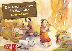 Kain und Abel. Kamishibai Bildkartenset. von Hartmann,  Frank, Lefin,  Petra