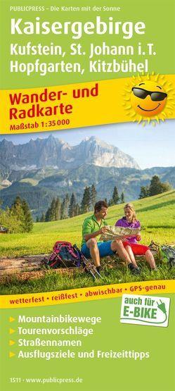 Kaisergebirge, Kufstein – St. Johann i.T., Hopfgarten – Kitzbühel
