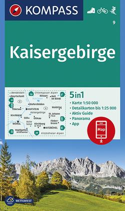 Kaisergebirge von KOMPASS-Karten GmbH