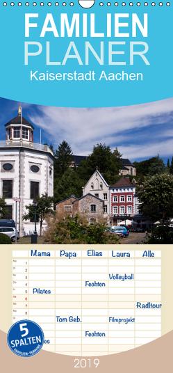 Kaiserstadt Aachen – Familienplaner hoch (Wandkalender 2019 , 21 cm x 45 cm, hoch) von boeTtchEr,  U