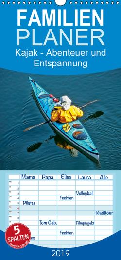 Kajak – Abenteuer und Entspannung – Familienplaner hoch (Wandkalender 2019 , 21 cm x 45 cm, hoch) von Roder,  Peter