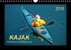 Kajak – Abenteuer und Entspannung (Wandkalender 2018 DIN A4 quer) von Roder,  Peter