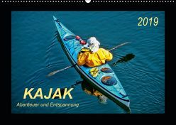 Kajak – Abenteuer und Entspannung (Wandkalender 2019 DIN A2 quer) von Roder,  Peter