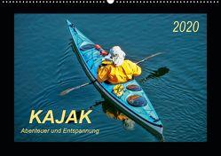 Kajak – Abenteuer und Entspannung (Wandkalender 2020 DIN A2 quer) von Roder,  Peter