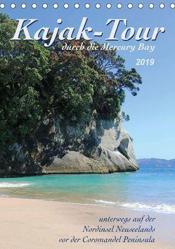 Kajak-Tour durch die Mercury Bay (Tischkalender 2019 DIN A5 hoch) von Thiem-Eberitsch,  Jana