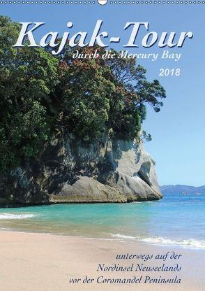 Kajak-Tour durch die Mercury Bay (Wandkalender 2018 DIN A2 hoch) von Thiem-Eberitsch,  Jana
