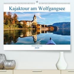 Kajaktour am Wolfgangsee (Premium, hochwertiger DIN A2 Wandkalender 2020, Kunstdruck in Hochglanz) von Schwarzer,  Henryk