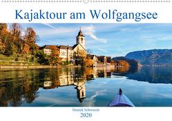 Kajaktour am Wolfgangsee (Wandkalender 2020 DIN A2 quer) von Schwarzer,  Henryk