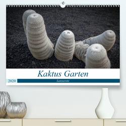 Kaktus Garten Lanzarote (Premium, hochwertiger DIN A2 Wandkalender 2020, Kunstdruck in Hochglanz) von Krieger,  Peter