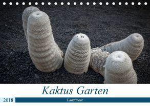 Kaktus Garten Lanzarote (Tischkalender 2018 DIN A5 quer) von Krieger,  Peter