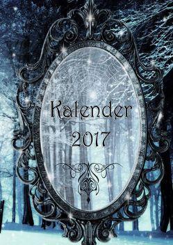 Kalender 2017 (Hardcover) von Amiel,  J. C., Cooper,  Alexondra, Hill,  Alex