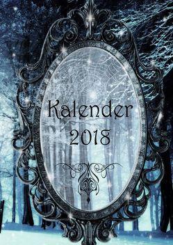 Kalender 2018 (Hardcover) von Amiel,  J. C., Cooper,  Alexondra, Hill,  Alex