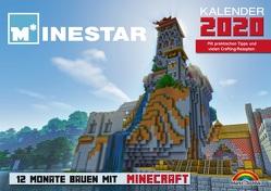 Kalender 2020 – 12 Monate Bauen mit Minecraft – Mit Spieletipps und vielen Crafting – Rezepten von Minestar,  Community