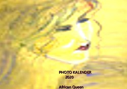 Kalender 2020 von queen,  african