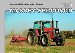 Kalender 2020 Massey Ferguson Traktoren im Einsatz von Glienke,  Heller,  Hierhager,  Richters