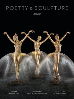 """Kalender 2020 """"Poetry & Sculpture"""" Deutsch/Polnisch von Malgorzata,  Chodakowska"""