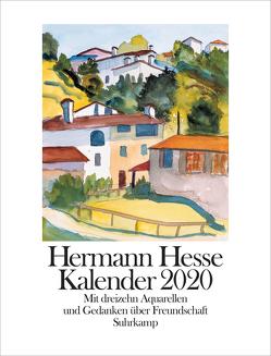 Kalender 2020 von Hesse,  Hermann