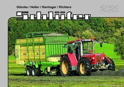 Kalender 2021 Schlüter-Schlepper im Einsatz von Glienke,  Heller,  Hierhager,  Richters