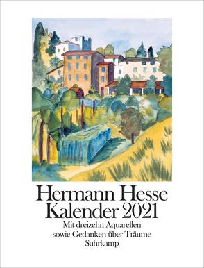 Kalender 2021 von Hesse,  Hermann