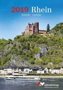 Kalender A5 Rhein 2019 von Rahmel,  Renate