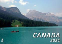 Kalender Canada 2021 von Kriegel,  Michael, Streck,  Laurina