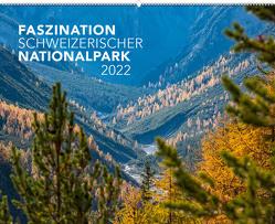 Kalender Faszination Schweizerischer Nationalpark 2022 von Lozza,  Hans