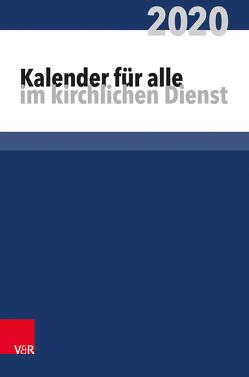 Kalender für alle im kirchlichen Dienst von Behrends,  Heinz
