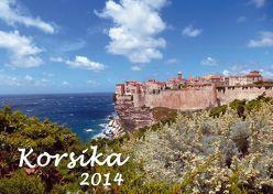Kalender Korsika 2014 von Kriegel,  Michael