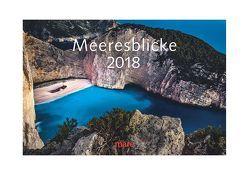 Kalender Meeresblicke 2018 von Gelpke,  Nikolaus