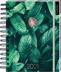 Kalender mit Spiralbindung Pflanzen 2021