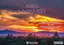 Kalender Myanmar 2021 A2 querformat von Redeker,  Will