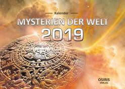 """Kalender """"Mysterien der Welt 2019"""" von OSIRIS-Verlag"""