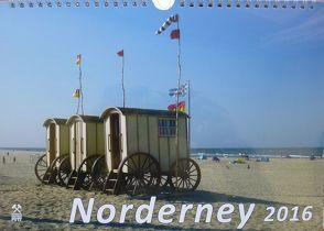 Kalender Norderney 2016 von Kriegel,  Michael