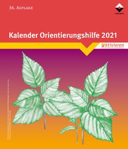 Kalender Orientierungshilfe 2021 (nur Block)