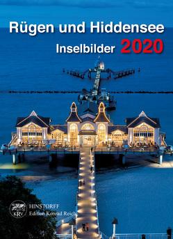 Kalender Rügen und Hiddensee 2020 von Reich,  Lydia
